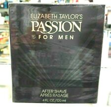 ELIZABETH TAYLOR PASSION FOR MEN AFTER SHAVE 120 ML FRAGRANCE NEW IN BOX RARE