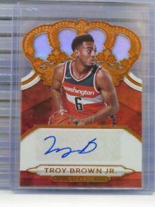 2018-19 Crown Royale Troy Brown Jr. Rookie Auto Autograph #093/149 F73