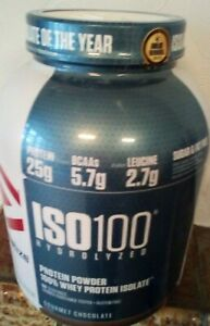 Dymatize ISO-100 Hydrolized Whey Protein Isolate 2.2kg/4.9lbs Powder Recovery