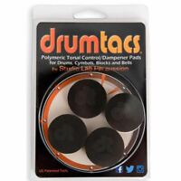 Drumtacs Sound Control Dampener Pads for Drums and Cymbals, 4-Pack