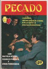 Pecado Mortal #107 1978 Bronze Age Brn&W Foto Comic Mexico Spanish Lang Fine