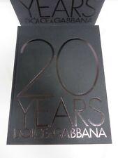 20 Years Dolce & Gabbana - 2005 large illustrated hardback with slip case