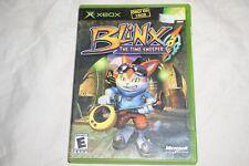 Blinx Time Sweeper ORIGINAL (Microsoft Xbox) Complete
