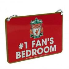 Liverpool F.C. Bedroom Sign No1 Fan Official Merchandise