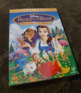 Disney Beauty And The Beast Belle's Magical World Dvd * Special EDITION **