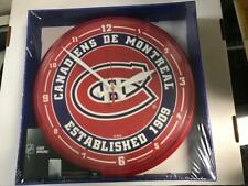 Montreal Canadiens Round Wall Clock, Wincraft