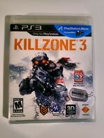 Killzone 3 (PS3, Sony) Playstation Video Game w/ Manual  Complete Ships Fast