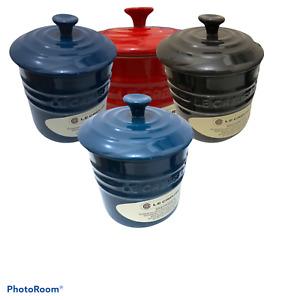 Le Creuset Storage Jar with Lid, 11cm diameter, 15cm height
