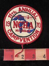 Vtg 1970 NCHA Michigan CAMPVENTION Patch - Camper 83V8