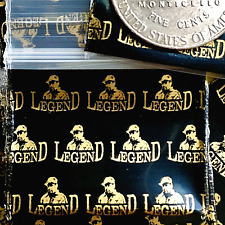 3 Mil 12510 125 X 1 Mini Zip Lock Design Bag Metallic Print Legend 100 Pieces