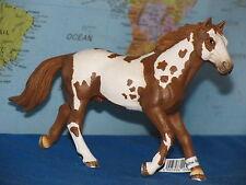 SCHLEICH PINTO STALLION HORSE ANIMAL 13616 ***BRAND NEW & RARE***