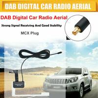 Professional DAB Digital Car Radio Aerial Antenna Glass Mount MCX Male Plug