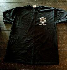 Sons Of Anarchy Texas Mens T Shirt Size L Black Short Sleeve Crewneck Cotton