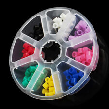 160x Dental Silicone Instrument Code Rings Autoclavable 135ºC Colorful Hygienist