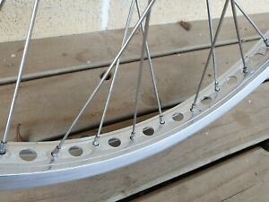 Mongoose PRO CLASS polished alloy wheel set with Suzue hubs - old school bmx