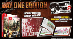 Guilty Gear 20th Anniversary Pack inc. Artbook Nintendo Switch ~ BRAND NEW ~ nsc
