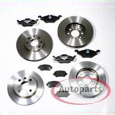 Opel Astra G - Bremsscheiben Bremsen Bremsbeläge für 4 Loch vorne hinten*