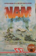 NAM (SSI 1986) Commodore C64 (Diskette Manual Box) 100% ok