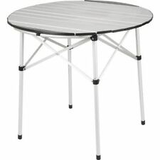 Lightweight Folding Slatted Aluminium Camping & Awning Table | Royal Blenheim