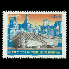 France 2010 - World EXPO 2010 Shanghai Architecture - Sc 3870 MNH