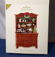 Hallmark Keepsake Ornament Mrs. Claus's Cupboard 2012 Member Exclusive Repaint