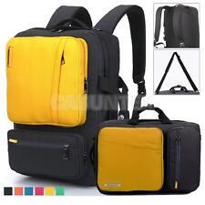 BRINCH Unisex Laptop Backpack Waterproof Outdoor School Computer Bag Yellow