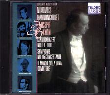 HARNONCOURT: HAYDN Symphony105 Concertante Piano Concerto 11 Mondo della Luna CD