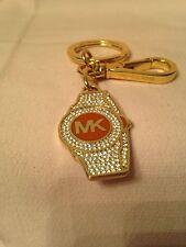 Michael Kors Brand-New Rhinestone Shape Watch Key Ring Fob