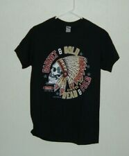 FLORIDA STATE SEMINOLES INSPIRED GARNET AND GOLD SM TO 5X  BLACK TEE NEW