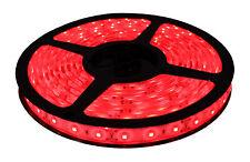 LED Strip Light Tape Flexible 12V 4.8W/m Waterproof IP65 60 Red ECO Series 1m