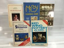 5 Pottery Cookie Jar book Shawnee Red Wing Hull McCoy Little Red Ridding Hood cl