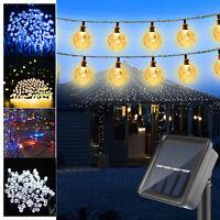 21ft 30 LED Solar Power Fairy String Lights Yard Lamp/100 LED Solar String Light