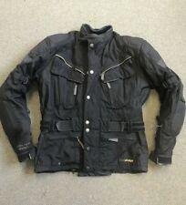 Hein Gericke Goretex Motorcycle Cordura Jacket Black Size 50 UK 32    W9