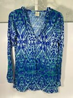 Balance Collection Long Sleeve Hooded Top Shirt Size XL - USED!