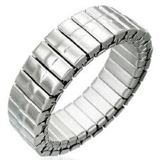 Stretchable Stainless Steel 6mm Band Ring Sz 8+ Free Shipping To US   9c