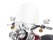 HARLEY DETACHABLE WINDSHIELD KIT AUXILIARY LIGHTS  XL 88 - 03  DYNA  91-05