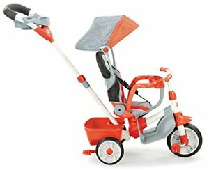 Little Tikes 5-in-1 Deluxe Ride & Relax Reclining Trike - Red