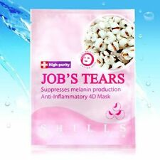 [SHILLS] Raw Job's Tears Whitening and Brightening Facial Mask 5pcs NEW