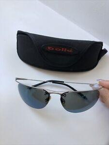 Bollé Rimless Unisex Blue Sunglasses Polarized