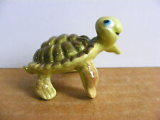 Hagen Renaker Happy Turtle Miniature Animal Figurine Support Wildlife Rehab