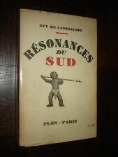 RESONANCES DU SUD - Guy de Larigaudie 1946 - Polynésie Scouts b