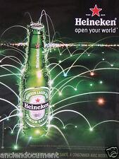 PUBLICITÉ 2014 HEINEKEN OPEN YOUR WORLD - ADVERTISING