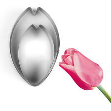 Tulip Stainless Steel Metal Cookie Cutter Cake Candy Decorating Supplies Mold