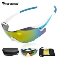 West Biking Cycling Eyewear Men Goggle Glasses Sunglasses Windproof Uv400 Gafas