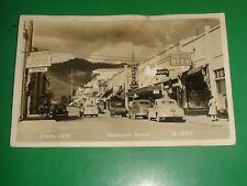 ZU924 Vtg RPPC Eastman's Studio Coca Cola Bee Club Beer Yreka California 1930s