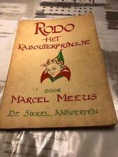 Rodo: Het Kabouterprinsje - Marcel Meeus  *Vintage jeugdboek*