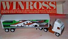1990 Hershey Farm Scene Winross Diecast Delivery Trailer Truck
