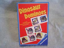 1988 Dinosaur Dominoes Game Ravensburger,tyrranosauru s,dimetrodon,brontosaurus
