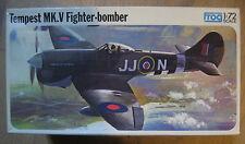 MAQUETTE 1/72 VINTAGE FROG  TEMPEST MK V FIGHTER BOMBER  WWII  MILITAIRE AVION