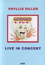 PHYLLIS DILLER - LIVE IN CONCERT - DVD - NEW